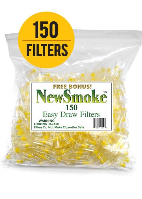 New Smoke – 150 Bulk Cigarette Filters