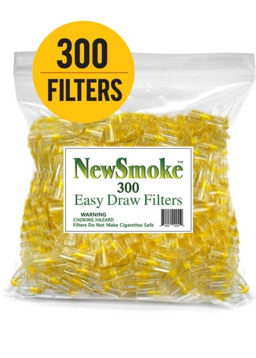 New Smoke – 300 Bulk Cigarette Filters