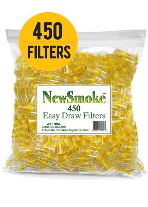 New Smoke – 450 Bulk Cigarette Filters